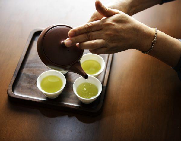 緑茶すすぎの育毛効果